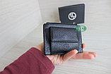 Мужское мини портмоне кардхолдер из натуральной кожи, фото 8
