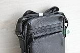 Мужская сумка, барсетка через плечо, фото 3
