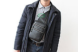 Мужская барсетка кобура из натуральной кожи Н.Т. leather, фото 2