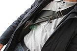 Мужская барсетка кобура из натуральной кожи Н.Т. leather, фото 6