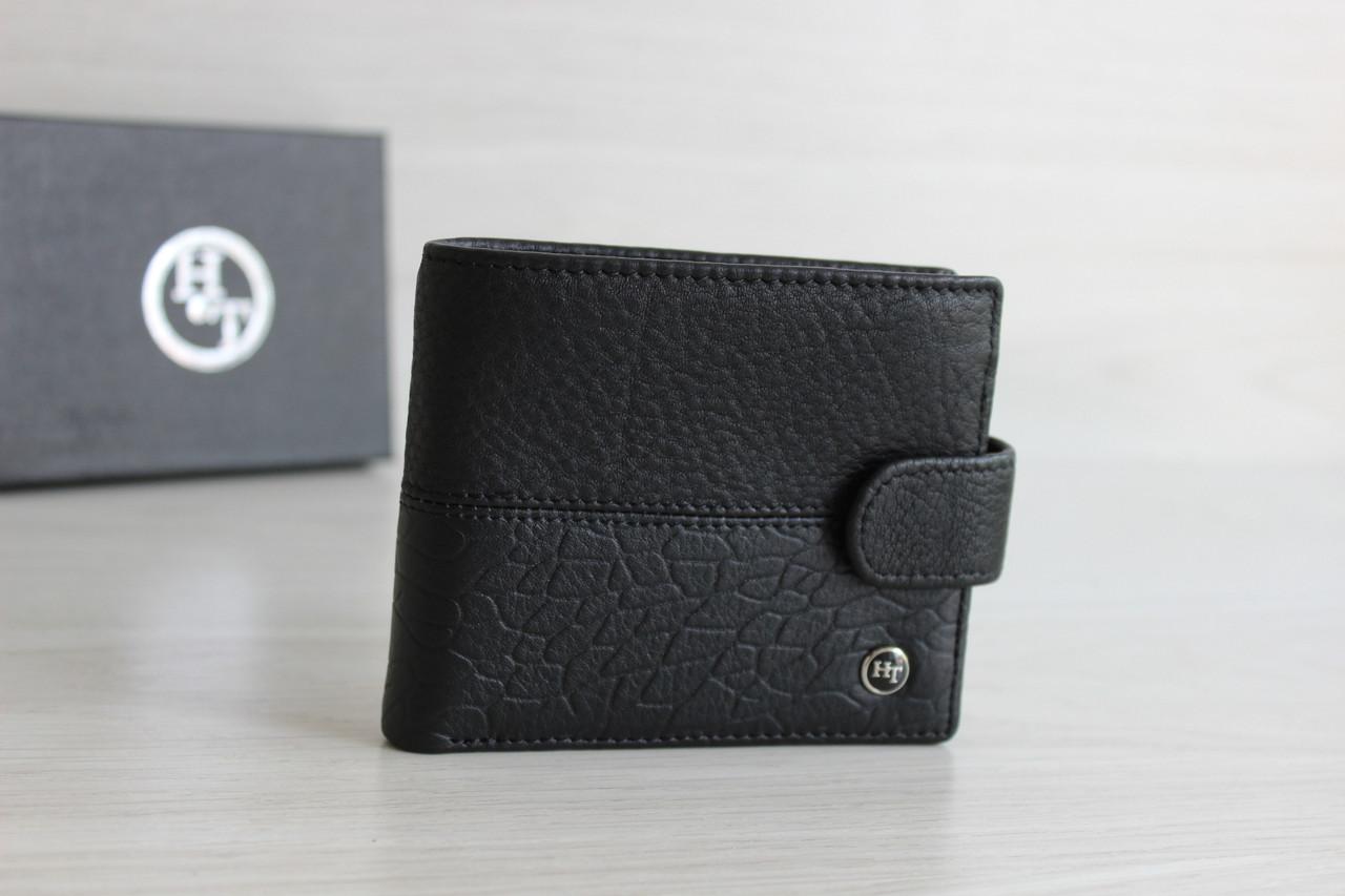 Мужское портмоне из натуральной кожи H.T