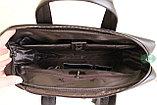 Мужской портфель Bradford (коричневый), фото 8