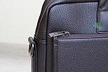 Мужской портфель Bradford (коричневый), фото 10