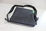 Мужская сумка барсетка через плечо, фото 5