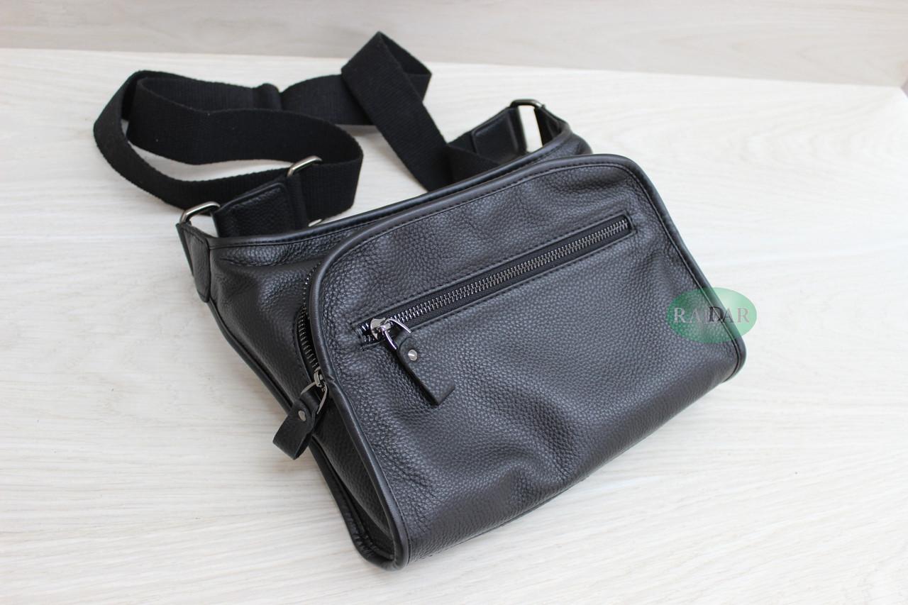 Мужская сумка планшет из натуральной кожи