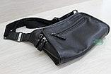 Мужская сумка планшет из натуральной кожи, фото 2
