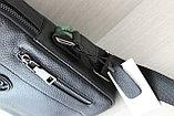 Мужская барсетка сумка через плечо ВВ, фото 5