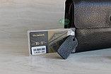 Мужская барсетка клатч из натуральной кожи H.T., фото 9