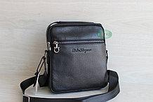 Мужская барсетка через плечо, мужская сумка из кожи S.F.