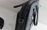 Мужской портфель Bradford (черный), фото 6