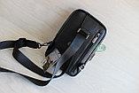 Мужская барсетка, кобура, сумка слинг из натуральной кожи НТ, фото 10