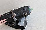 Мужская кожаная барсетка, кобура, сумка слинг НТ, фото 9