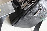 Мужская кожаная сумка барсетка через плечо HT, фото 6