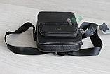 Мужская кожаная барсетка сумка через плечо НТ, фото 6