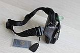 Мужская поясная сумка, барсетка кобура из натуральной кожи, фото 5
