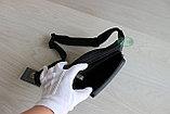 Мужская поясная сумка, барсетка кобура из натуральной кожи, фото 6