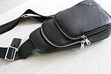 Мужская барсетка, кобура, нагрудная сумка, фото 2