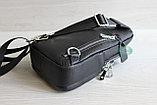 Мужская барсетка, кобура, нагрудная сумка, фото 3