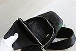 Мужская барсетка, кобура, нарудная сумка из натуральной кожи, фото 7