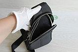 Мужская барсетка, кобура, нарудная сумка из натуральной кожи, фото 10