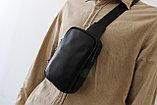 Мужская барсетка, кобура, нагрудная сумка, фото 8