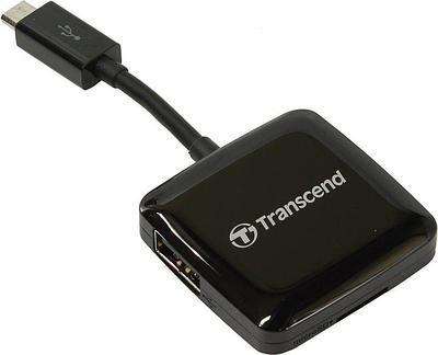 Картридер Transcend TS-RDP9, черный
