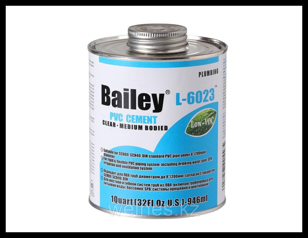 Клей для труб PVC Bailey (473 мл)