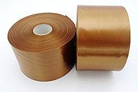 Текстильная сатиновая лента 100мм/200м Темное ЗОЛОТО