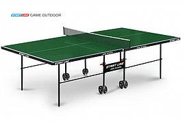 Теннисный стол Game Outdoor зеленый