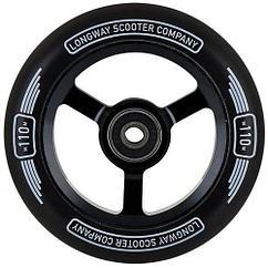 Колесо wheel 110 mm Black на самокаты. Немецкий бренд. Рассрочка. Kaspi RED