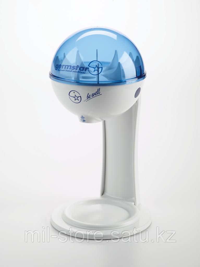 Дезинфицирующее средство для рук Джермстар (Germstar) в комплекте с бесконтактным сенсорным дозатором