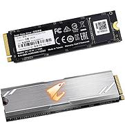Твердотельный накопитель SSD M.2 PCIe Gigabyte AORUS, 256 GB GP-ASM2NE2256GTTDR