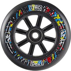 Колесо Tyro wheels100mm black на самокаты. Рассрочка. Kaspi RED