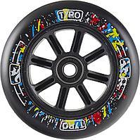 Колесо Tyro wheels110 mm black на самокаты. Рассрочка. Kaspi RED