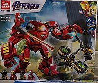 Конструктор Железный человек Война бесконечности, аналог Лего Марвел