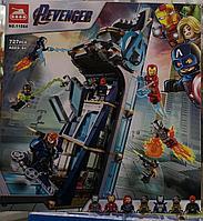 Конструктор супергерои аналог Лего Марвел 6 героев