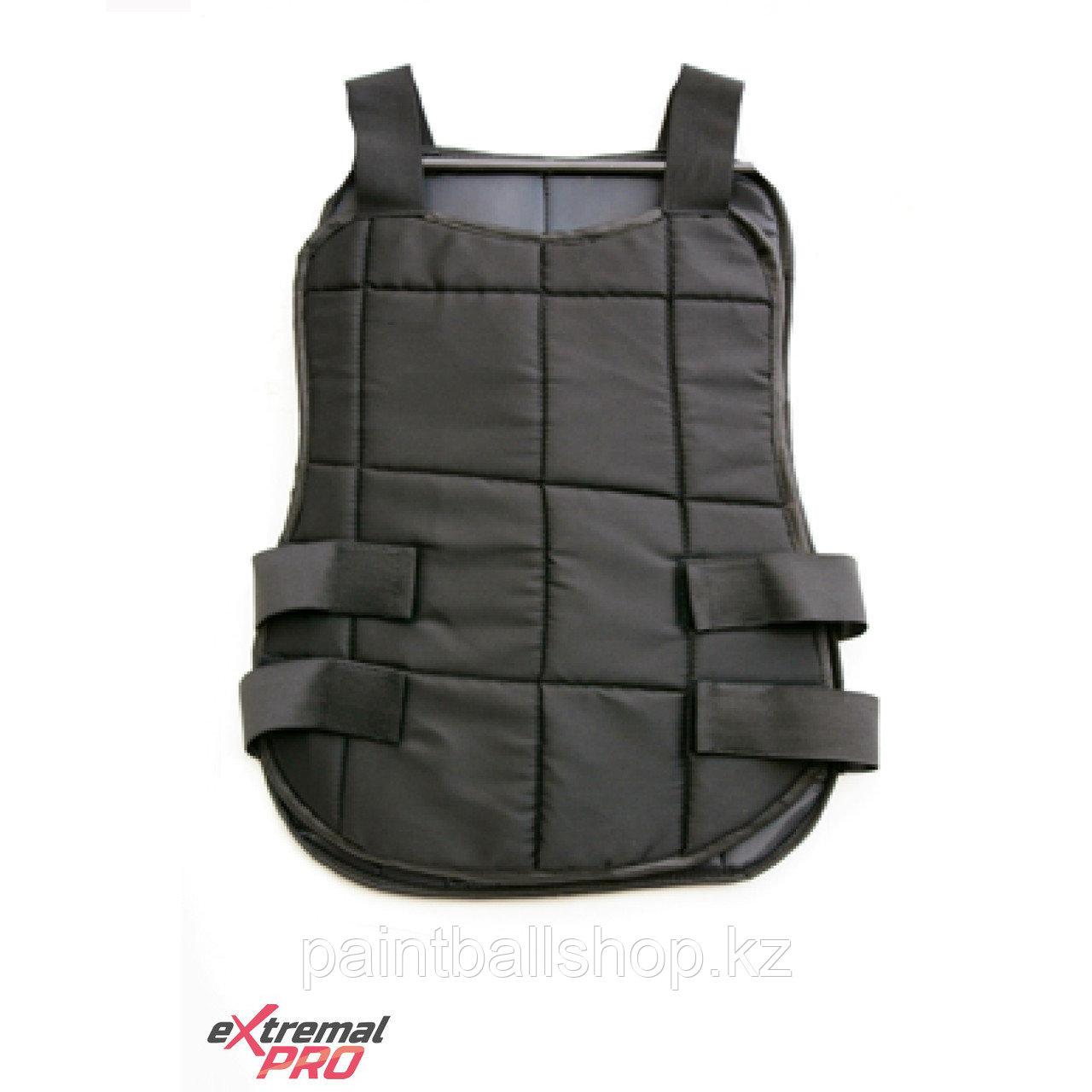 Защитный жилет для проката черный