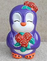 Керамическая копилка Пингвиненок