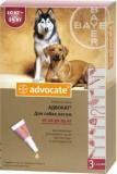 Bayer Адвокат средство от паразитов для собак до 4 кг (3 пипетки)