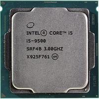 CPU Intel Core i5 9500 3,0GHz (4,4GHz) 9Mb 6/6 Core Coffe Lake 65W FCLGA1151 Tray