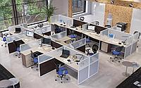 Офисные перегородки (глухие )