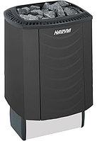 Печь электрическая Harvia Sound M90 Black (чёрная, со встроенным пультом)