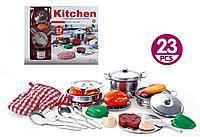 """OS: Игровой н-р с продуктами """"Кухня"""", 23 предмета"""
