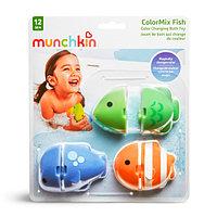 """Игрушка для ванной """"Цветные рыбки"""" ColorMix Fish 12+ (Munchkin, США)"""