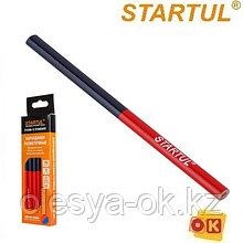 Карандаш разметочный 180мм (1шт) красный/синий STARTUL STANDART