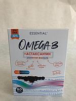 Пищевая добавка Омега-3+Астаксантин. Усиленная формула
