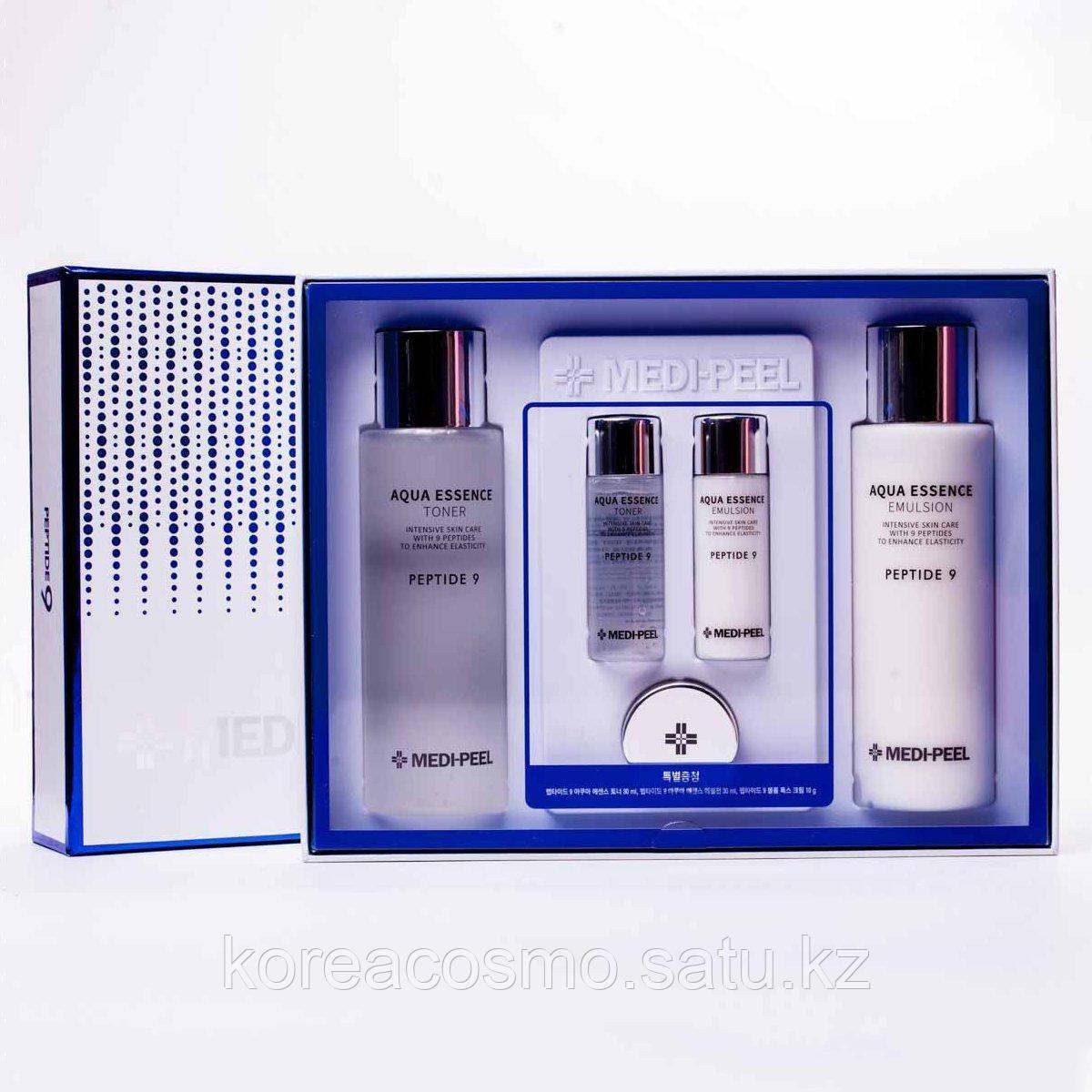 Medi-Peel Peptide 9 Skin Care Special Set (5 предметов) Набор лифтинговых пептидных средств для лица