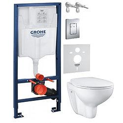 Набор 5в1 Grohe Bau Ceramic 39586000.