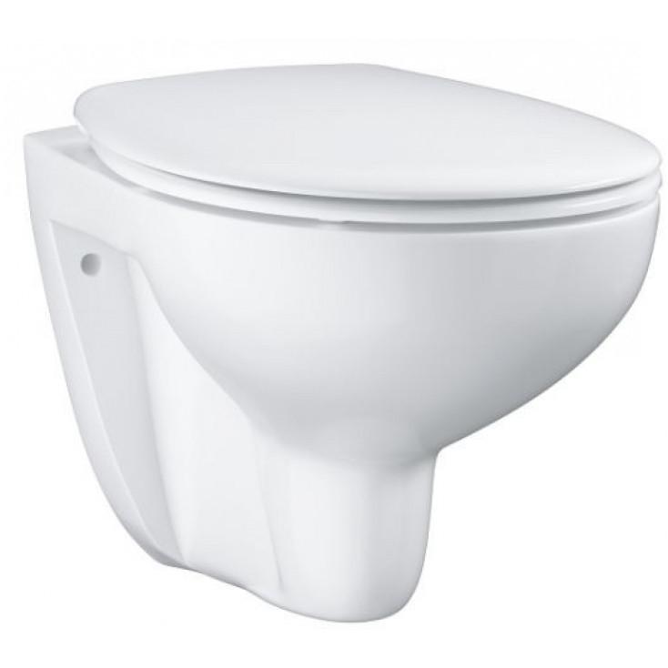 Унитаз подвесной с сиденьем микролифт Grohe Bau Ceramic 39351000