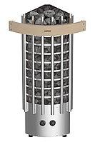 Печь электрическая Harvia Glow Corner TRC70 (со встроенным пультом, угловая)